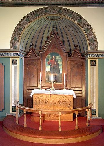 alteret i Buerup kirke