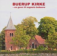 Forside af bogen om Buerup kirke
