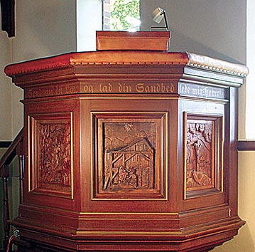 Prædikestolen i Buerup kirke